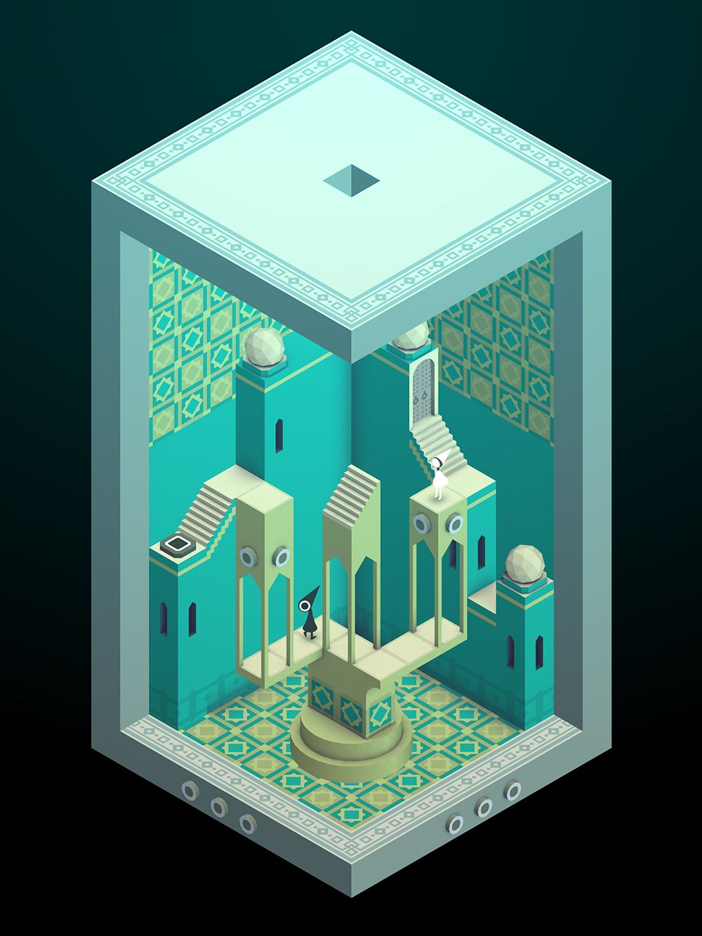 Can't wait for the new levels, the colors alone are absolutely beautiful!  Your First Look at Monument Valley's Perplexing New Levels | The Ustwo team says the game mechanics will build on what players already understand about the game.  ustwo  | WIRED.com