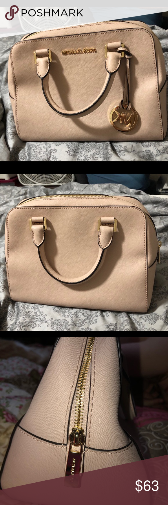 82b6f7d7b102 Michael Kors handbag Excellent condition. Did not come with a long strap .  Vinted  50
