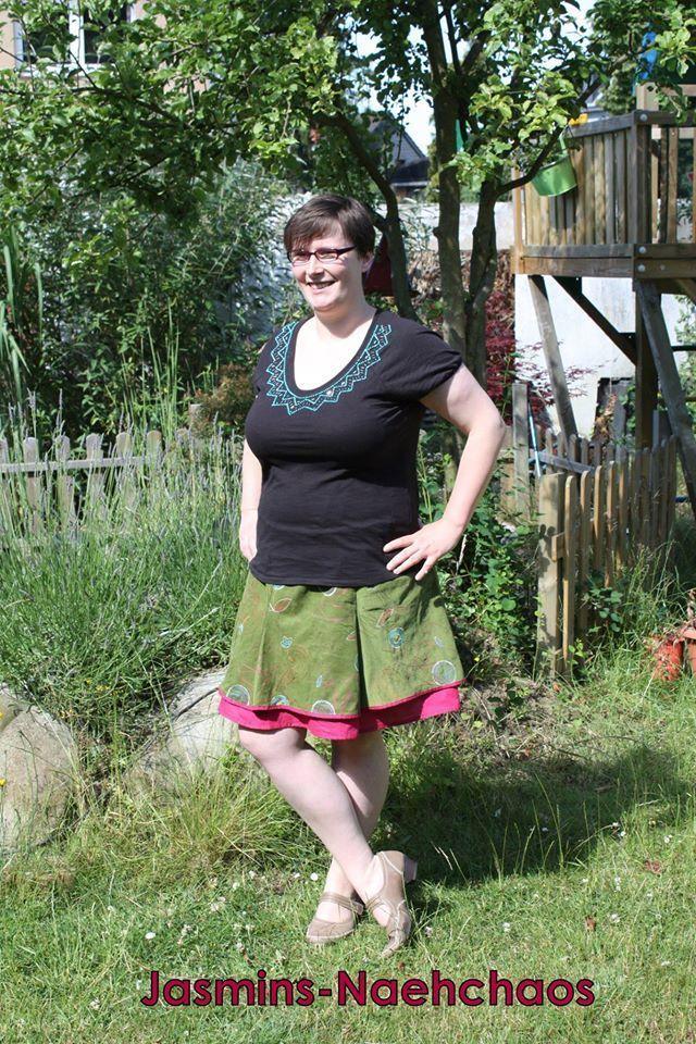 Schnittmuster / Ebook lillesol women No.9 Zwei-Lagen-Rock / Nähen ...