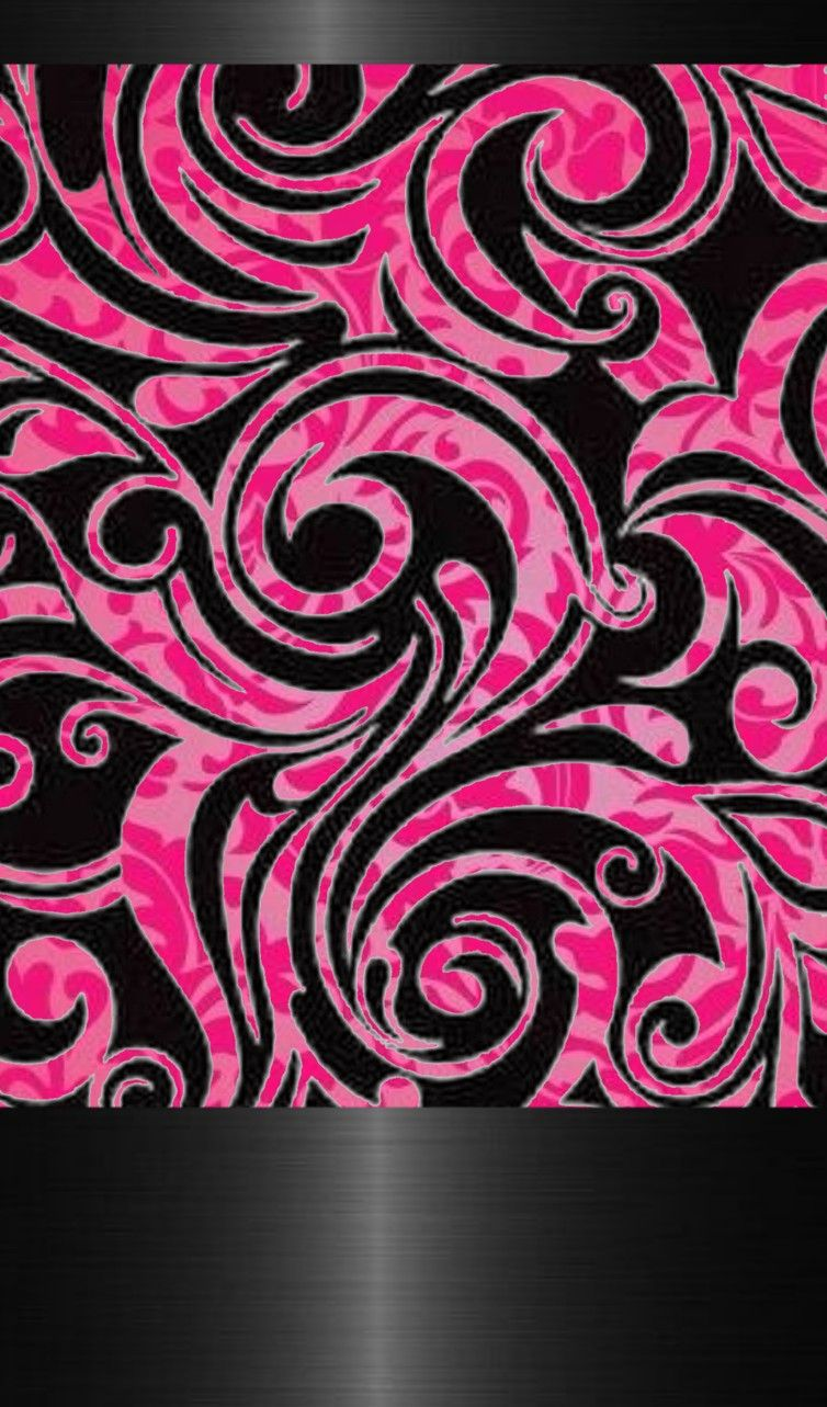 Black And Pink Pink And Black Wallpaper Pretty Wallpapers Cellphone Wallpaper