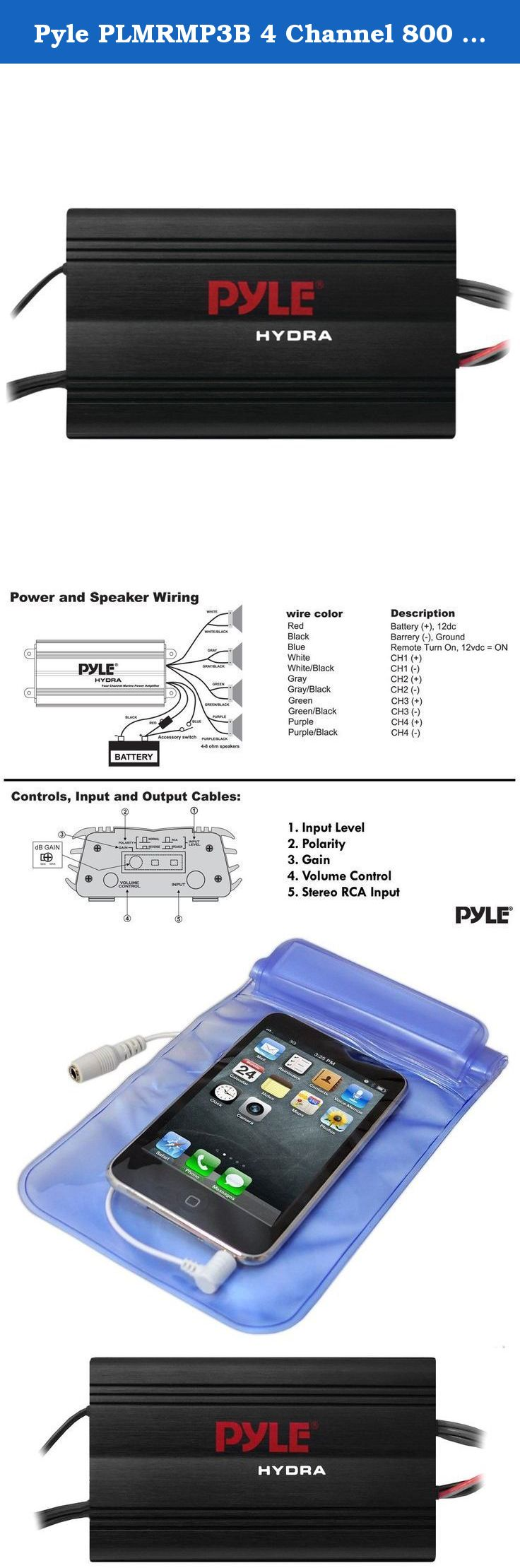 Channel Car Wiring Diagram On Pyle Marine Wiring Diagram On Stereo