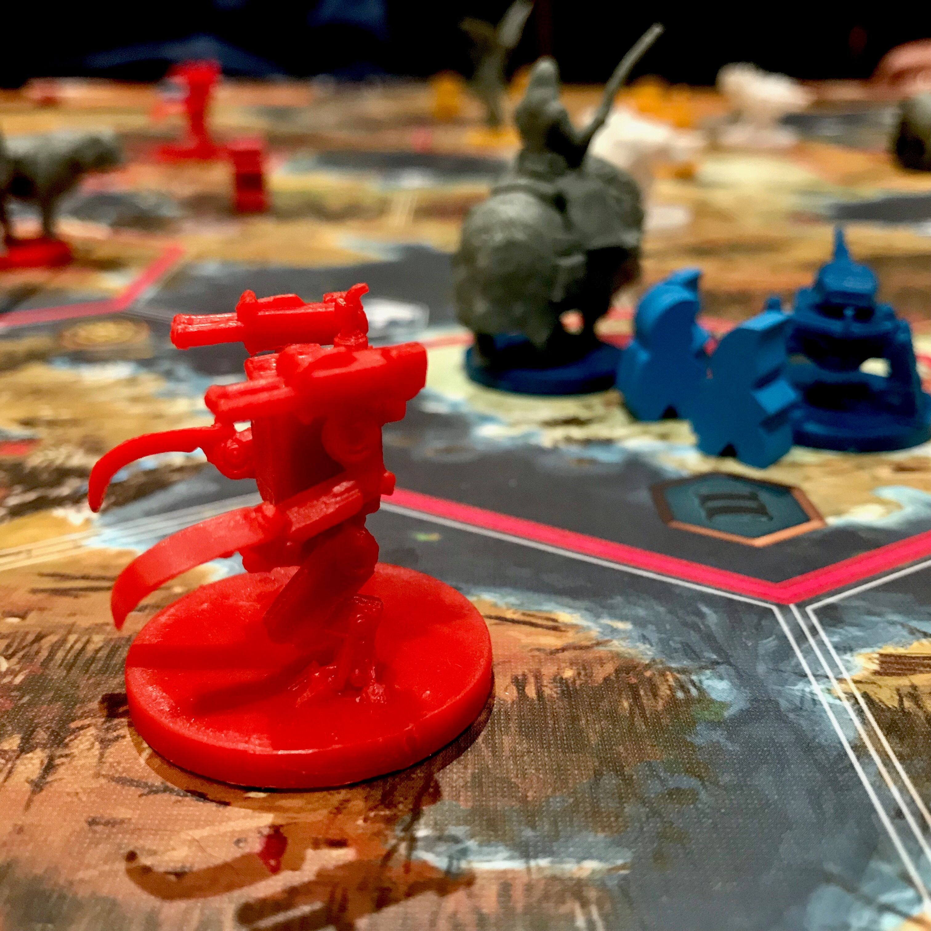 Scythe one of the biggest and best strategy board games