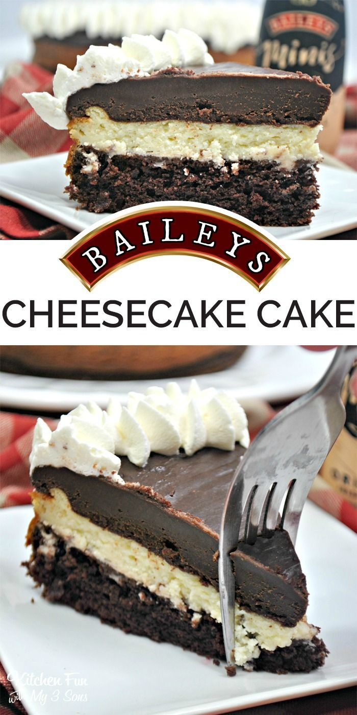 Baileys Cheesecake Cake - this is so good!