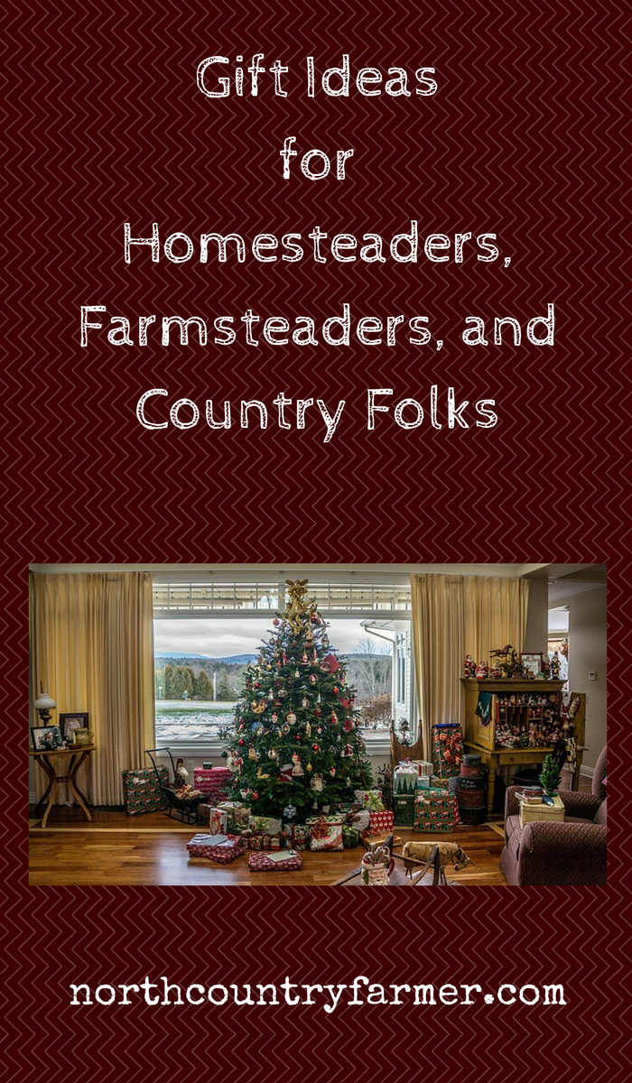 Farmers, homesteaders, and backwoodsmen are practical people who ...