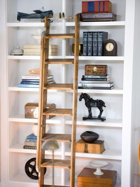 Bookshelf and Wall Shelf Decorating Ideas | Interior Design Styles and Color Schemes for Home Decorating | HGTV