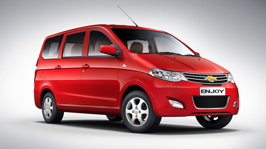 Chevrolet Enjoy Price Slashed By 2 Lakhs New Price Inr 4 99