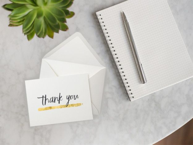 The Art of Writing a Thank You Note After an Interview Note - thank you note after job offer