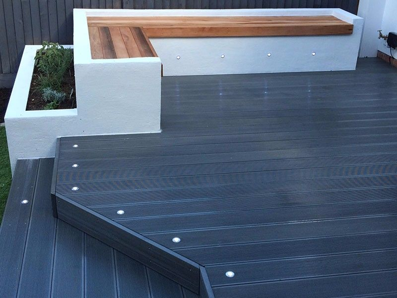 Grey Painted Wooden Deck Google Search Composite