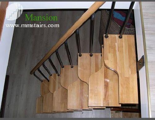 Great DIY Steel Stairs ( Steel Wood Staircase) Mini Stairs ( Alternated Steps  Stairs ) Retractable Stairs