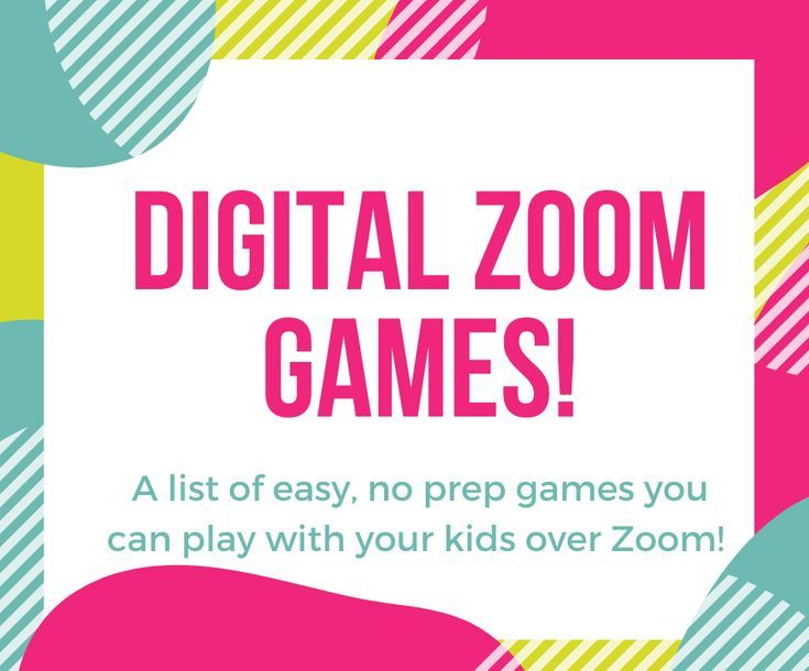 48+ Youth group games on zoom mode