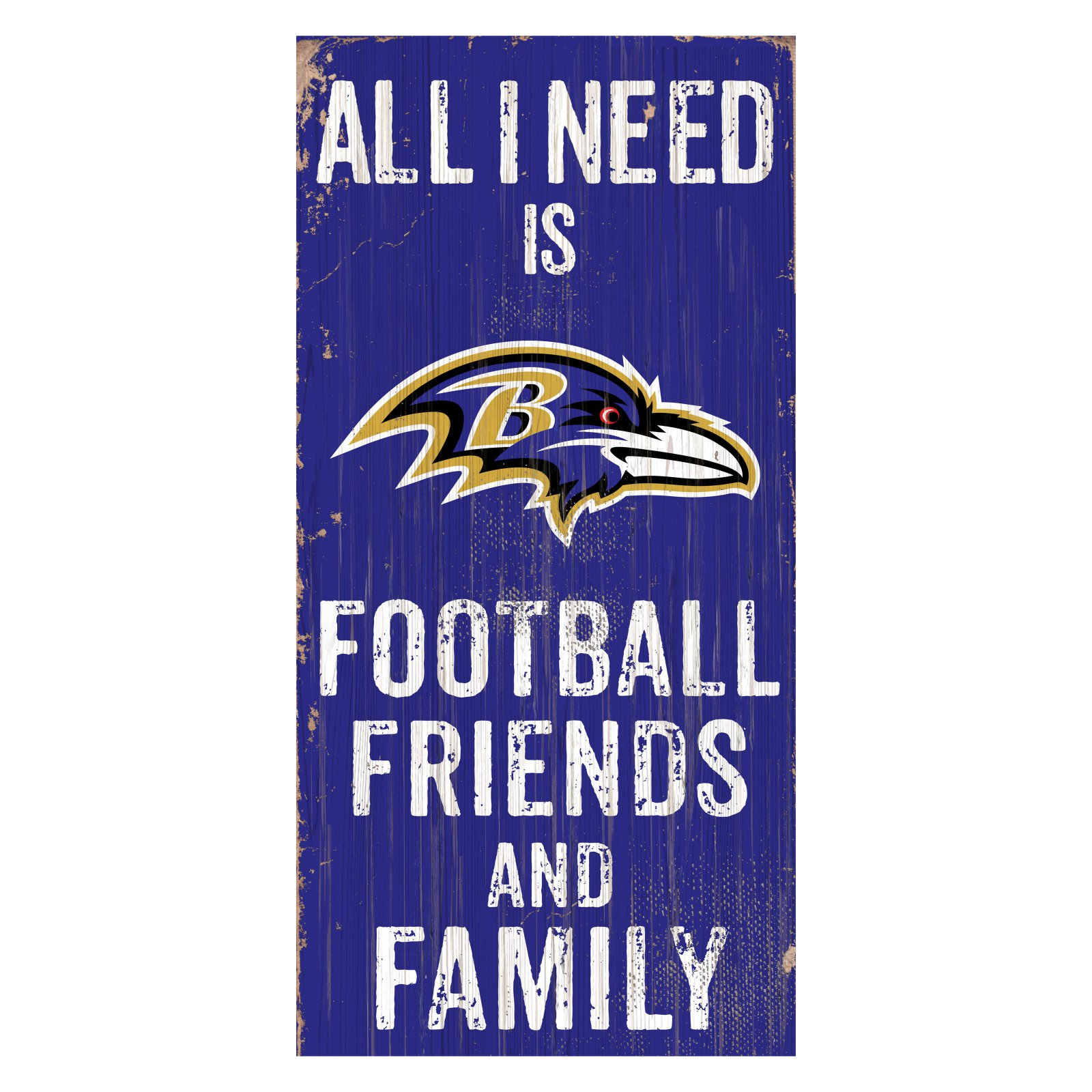 Fan Creations NFL All I Need Is Football Family and