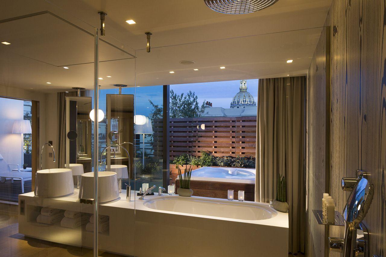 1000  images about les plus belles salles de bains d'hôtels ...