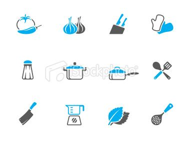 Duo Tone Icons Cooking Royalty Free Stock Vector Art Illustration Cooking Icon Vector Art Illustration Duo Tone