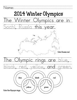 winter olympics worksheets winter olympics primary february pinterest worksheets. Black Bedroom Furniture Sets. Home Design Ideas