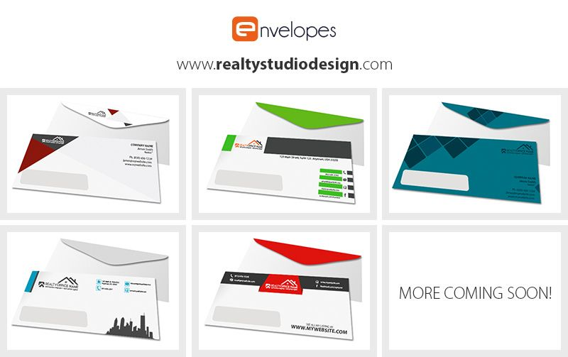 real estate envelopes in 2018 real estate printing pinterest