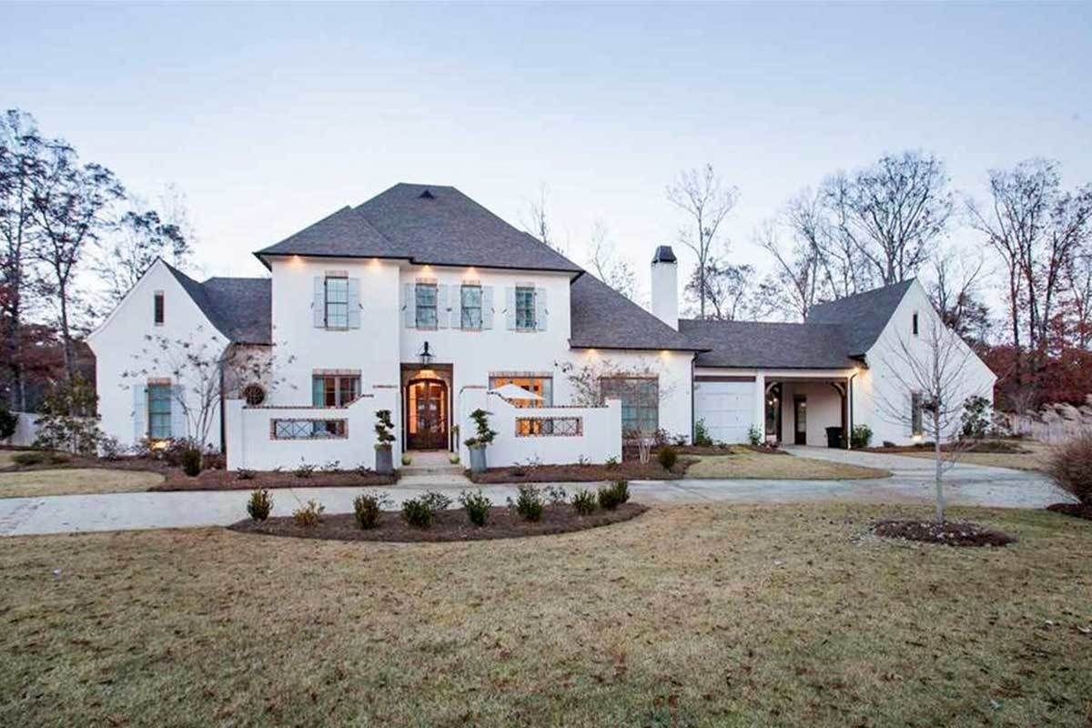 Photo of Plan 510029WDY: Refined French Country House Plan
