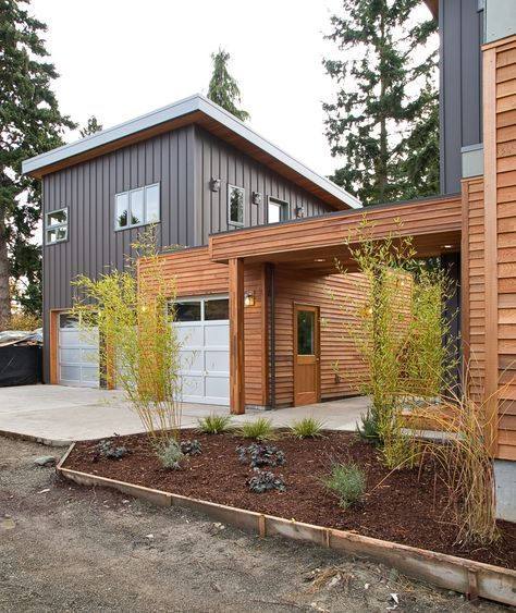 Small Modern Garage Home: Keep In Mind For Adding On