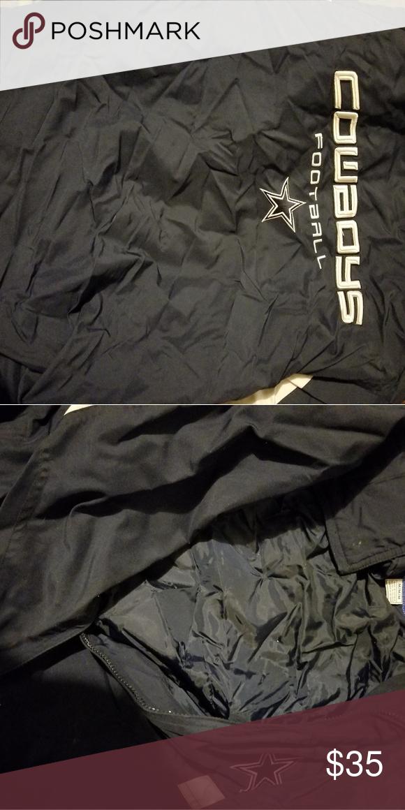 buy online d586b b7db1 Mens Lightweight Dallas Cowboys Jacket Size Medium Good ...