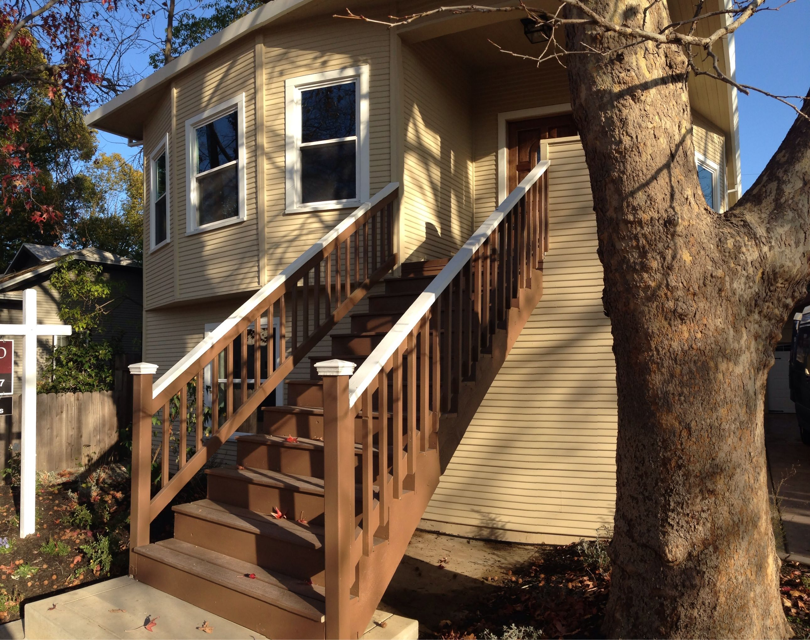 Remodeled in 2013, this charming high-water bungalow in east Sacramento has new foundation, new first floor framing, new stained concrete patio and driveway, new siding, new electrical wiring/panel, new plumbing, new roof!  4bed, 3bath.