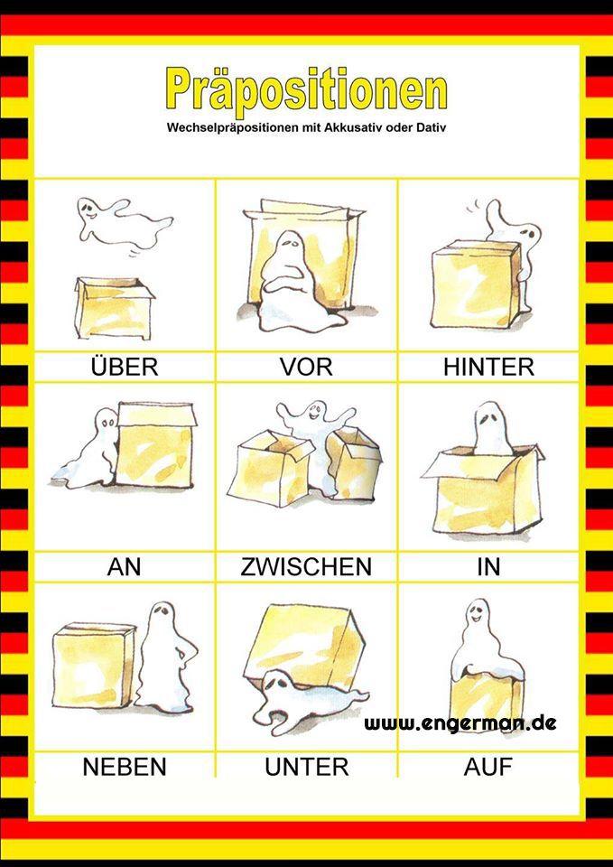 www.engerman.de | Learning german | Pinterest