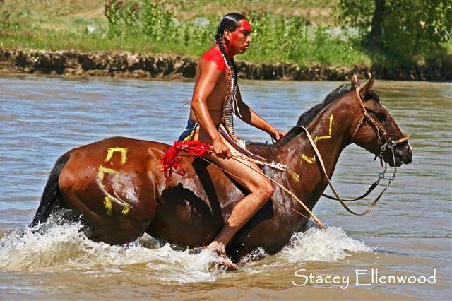 Little Bighorn re-enactment (Montana)