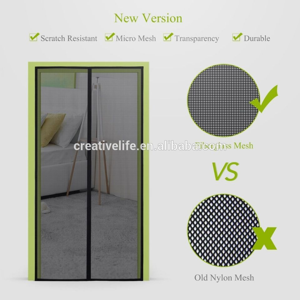 Amazon New Fiberglass Magnetic Screen Door Magnetic Screen Door Screen Door Durable