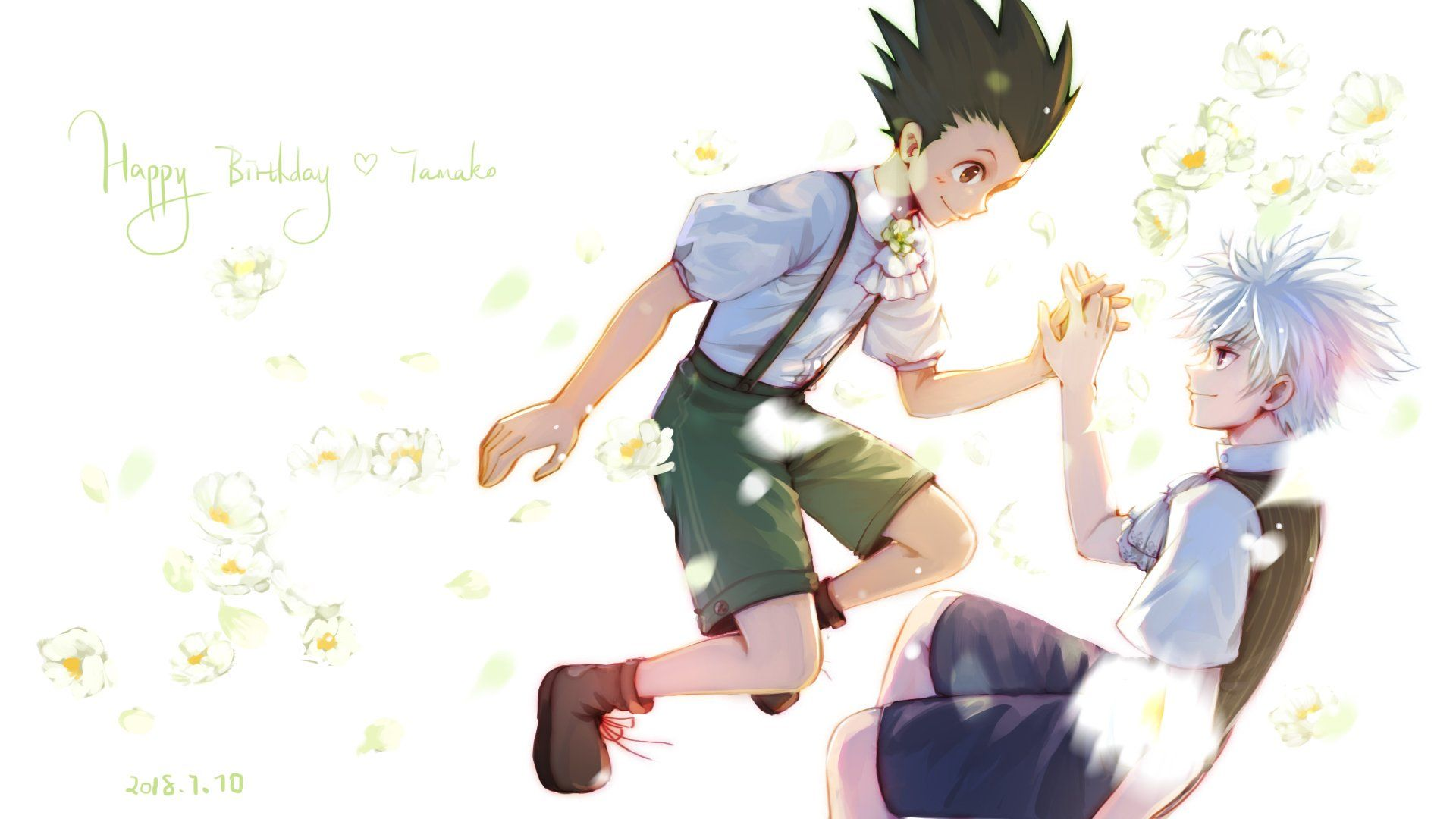 Pin By Killua 001 On Killugon Gonkillu Art Anime Hunter X Hunter