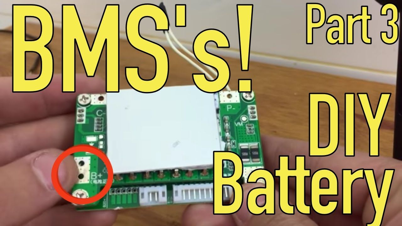 DIY Lithium Battery - BMS Wiring - Part 3/5 | BATTERIES