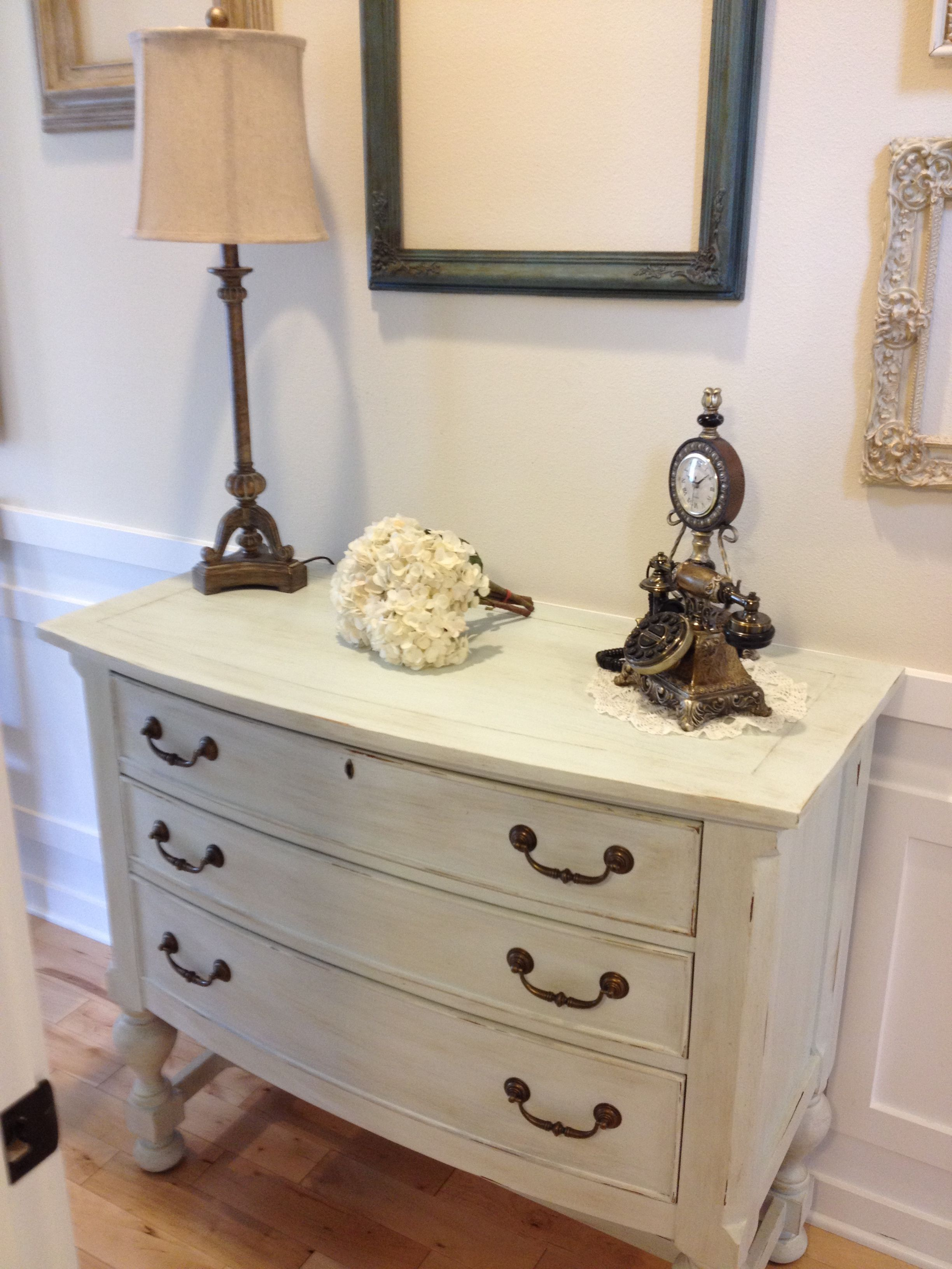 Superb Amy Howard Luxe Grey Dresser