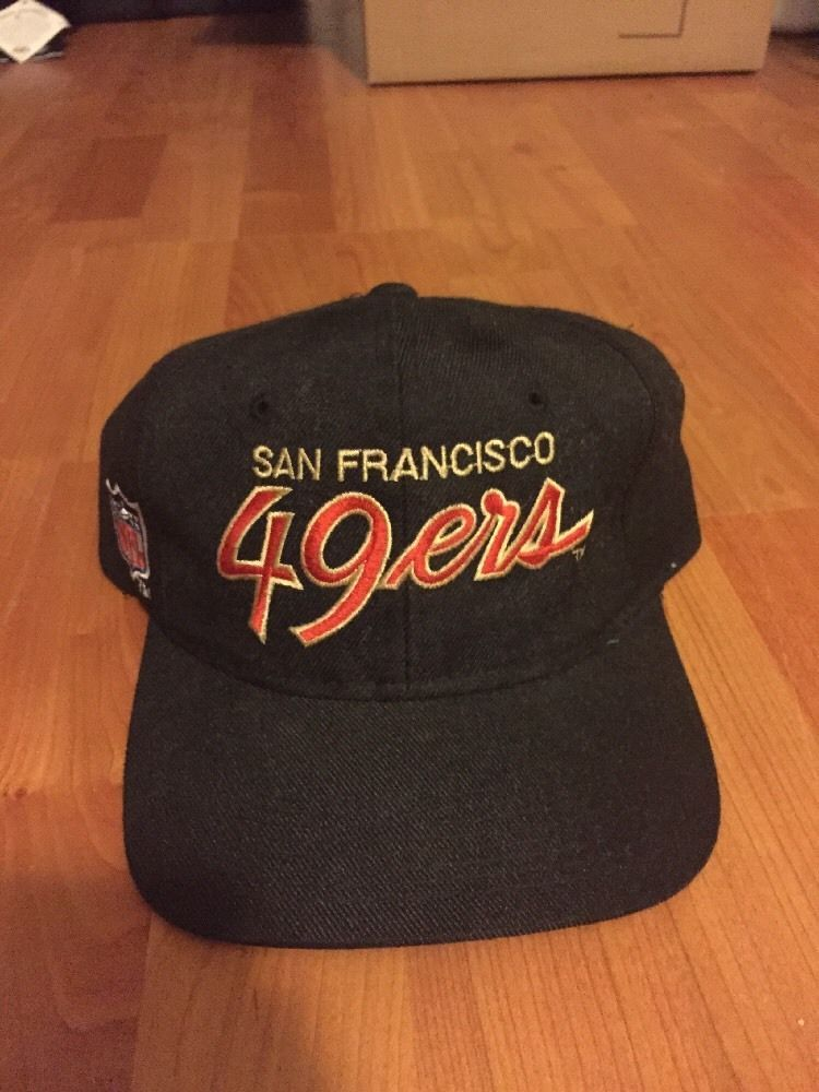 e71dfca568845 Vintage 49ers Sports Specialties Script Snapback  SportsSpecialties ...
