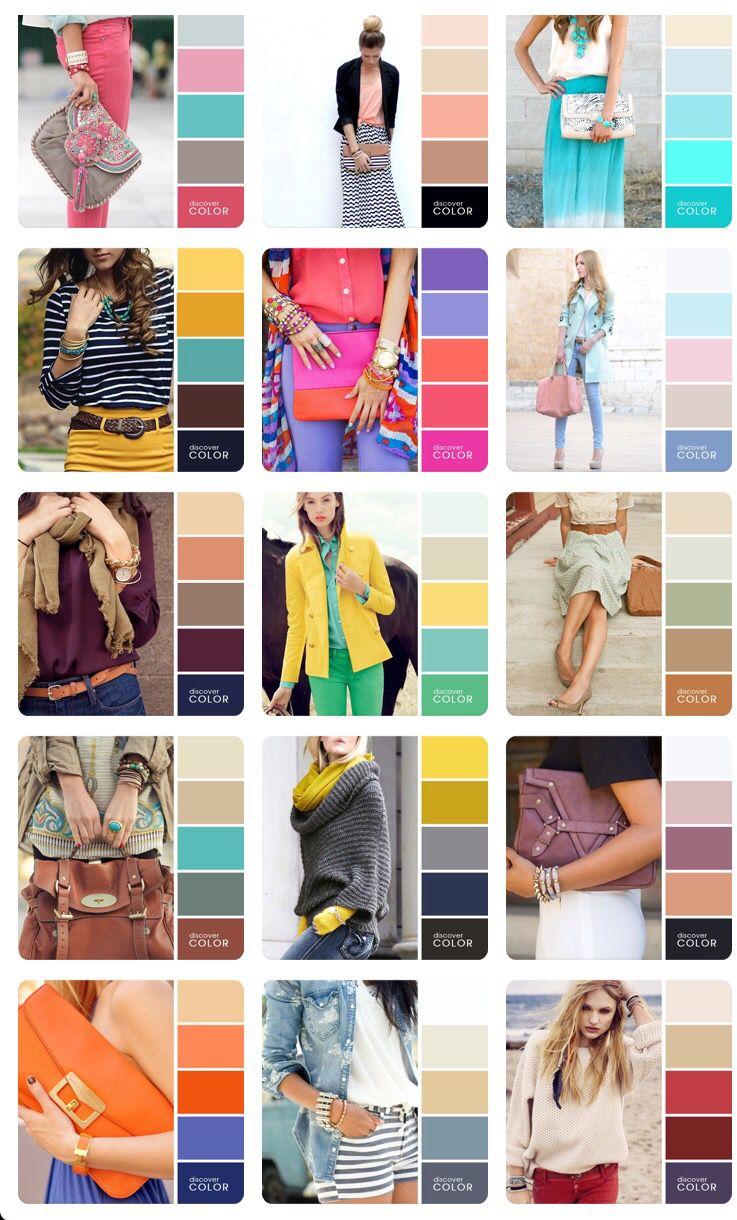 Color Palette Inspiration For Clothing Color Combinations For Clothes Color Trends Fashion Colour Combinations Fashion