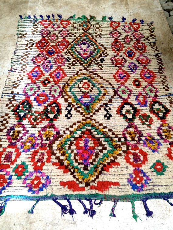 17 Best Images About Boucherouite Beni Ourain Moroccan Rugs On - Colorful Moroccan Rug Coloring Book