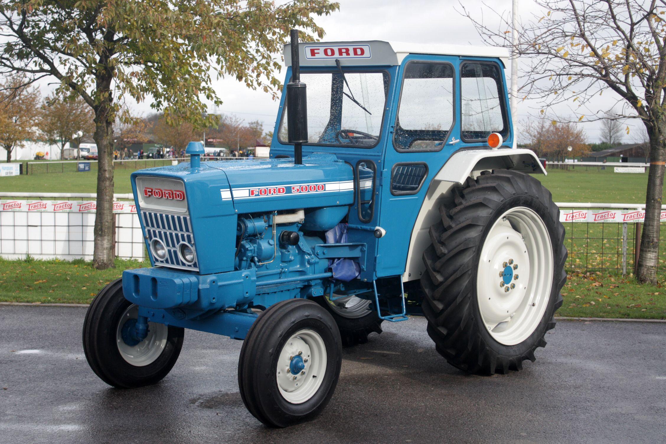 ford 5000   tractors, vintage tractors, ford tractors  pinterest