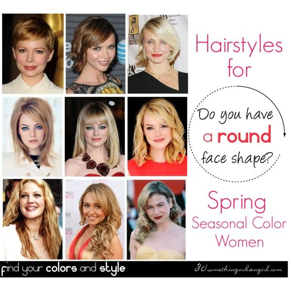 Best Hairstyles For Round Face Shape Spring Round Face Shape Round Face Haircuts Face Shapes