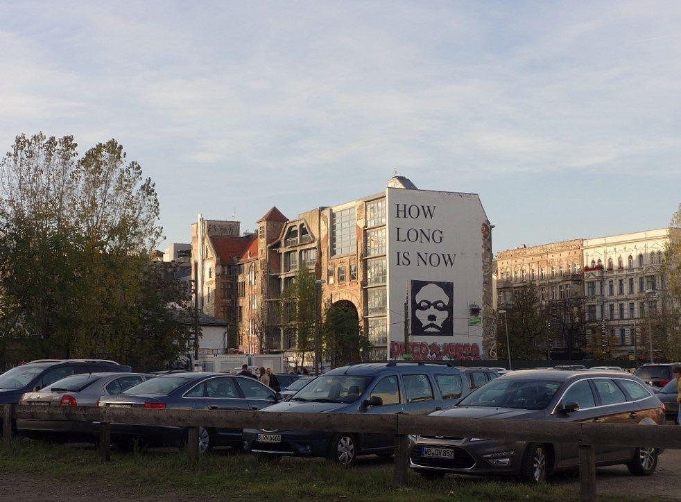Berlin Oranienburger Straße 1990 2009 Künstlerverein