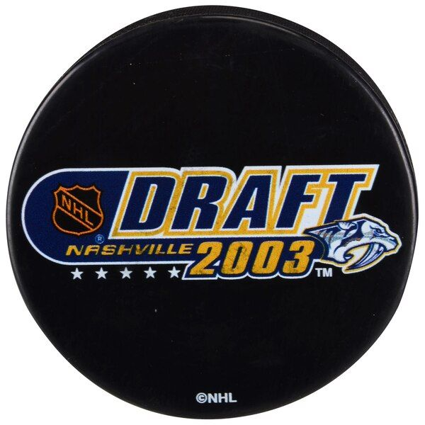 Fanatics Authentic 2003 NHL Draft Unsigned Draft Logo Hockey Puck