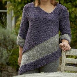 77c2dc2c2 Tosca - Asymmetric Top knitting pattern  0.00