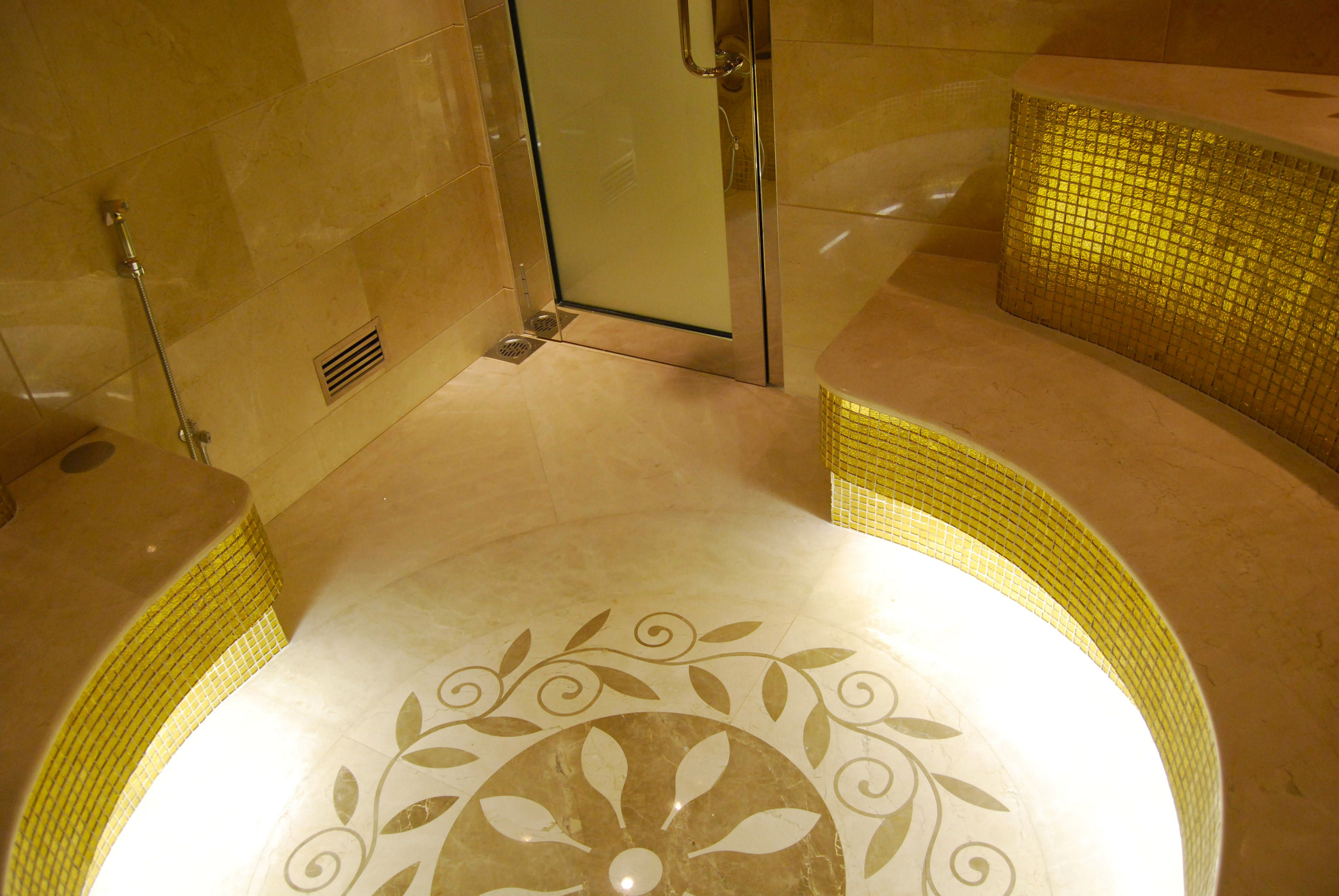 Bagno 2 X 2 private spa, doha, qatar | architetti, bagno, piastrelle