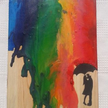 """""""Rainbow rain"""""""