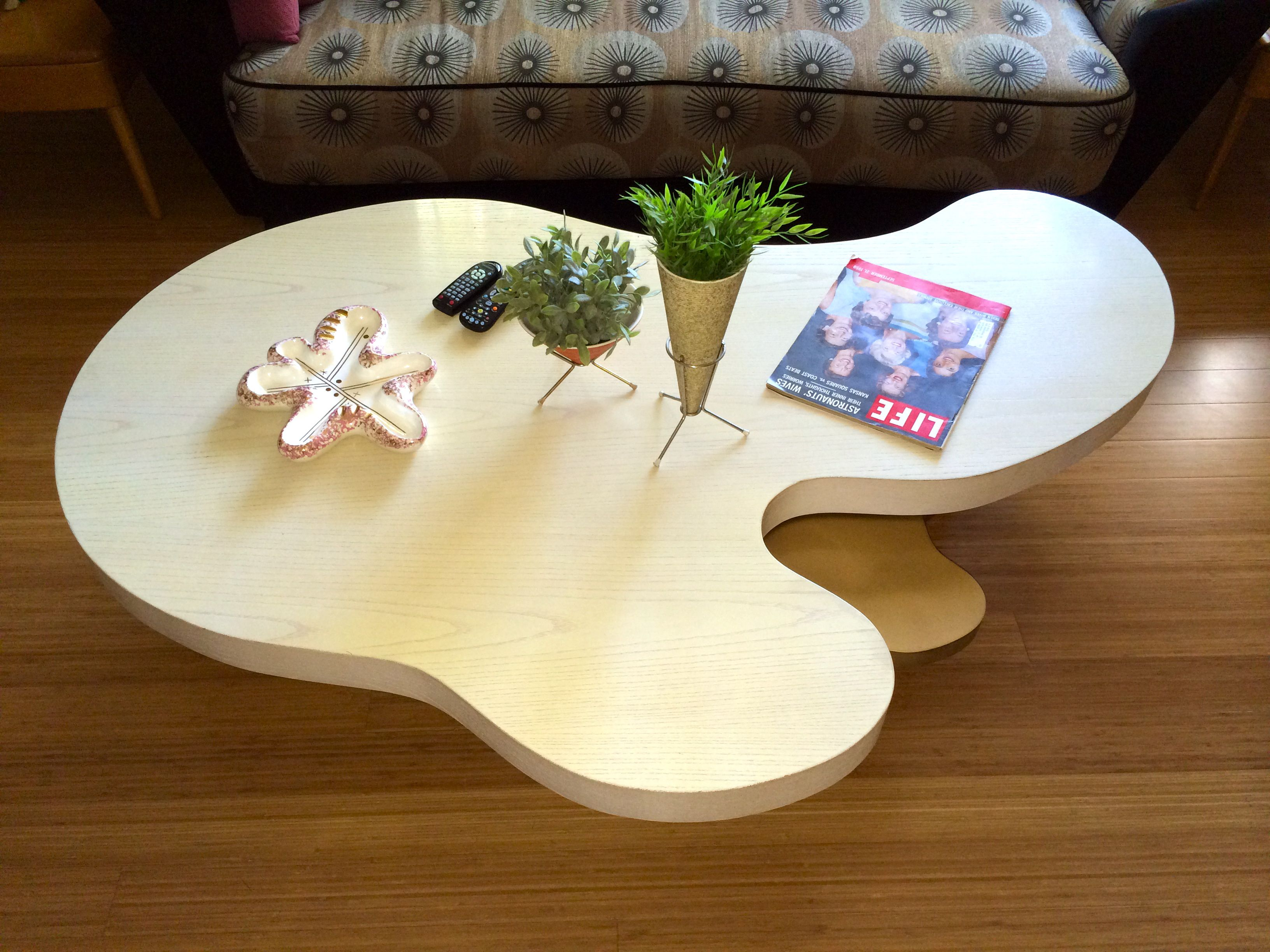 Vintage Ultra Amoeba Coffee And End Tables Retro Coffee Tables