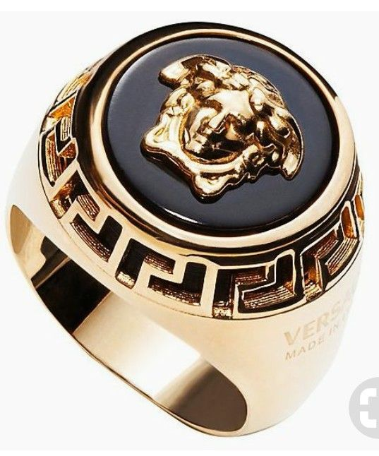 5b16cfcd024d Versace Jewelry, Trendy Jewelry, I Love Jewelry, Fashion Jewelry, Gents Ring ,