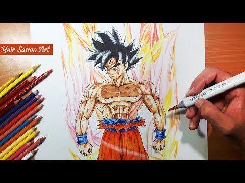 How To Draw Goku Super Saiyan Step By Step Tutorial Youtube Anime Dragon Ball Super Goku Drawing Dragon Ball Super