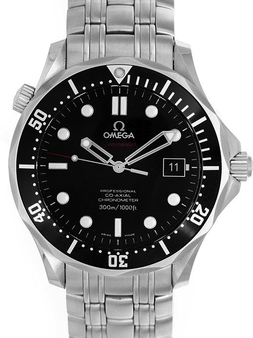 Omega seamaster famous from the Bond films with 50% discount. www.megawatchoutlet.com
