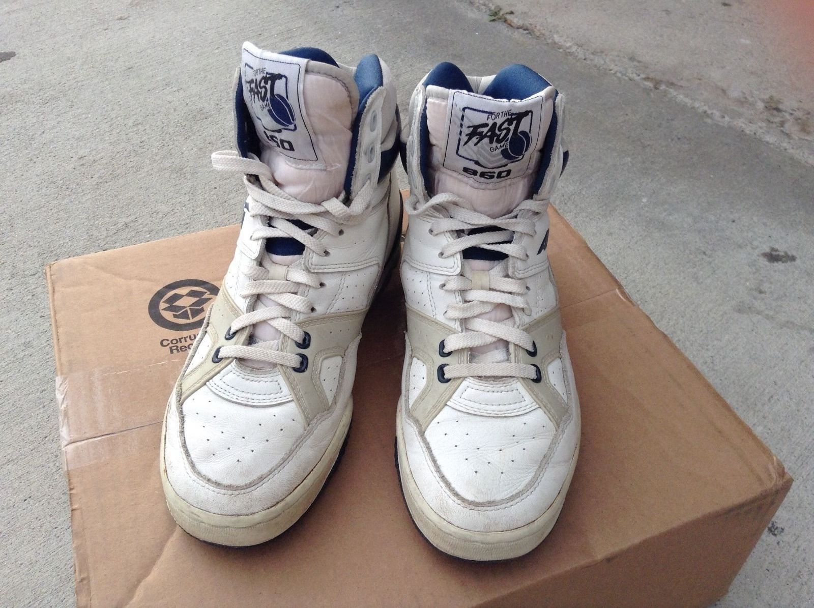 Vintage RARE 860 Avia Basketball Hightops High Top Sneakers
