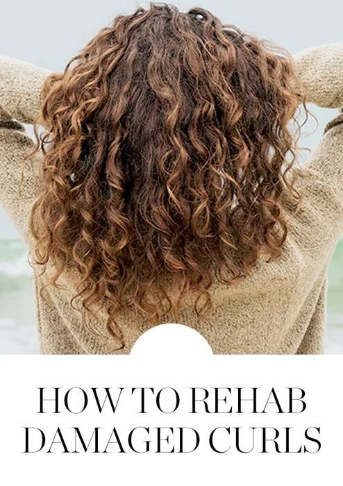 How To Rehab Damaged Curls Damaged Curly Hair Curly Hair Tips Curly Hair Styles Naturally