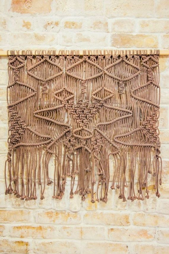 Large Macrame Wall Hanging Woven Wall Art Rustic Decor Wall Tapestry Woven Wall Art Macrame Wall Art Large Macrame Wall Hanging