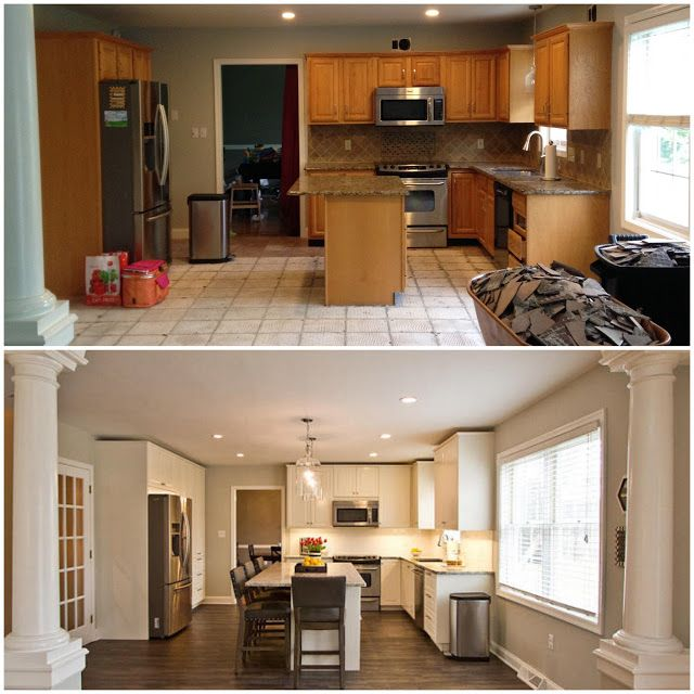 5 Tips On Build Small Kitchen Remodeling Ideas On A Budget: Ikea Kitchen Renovation: Before And After