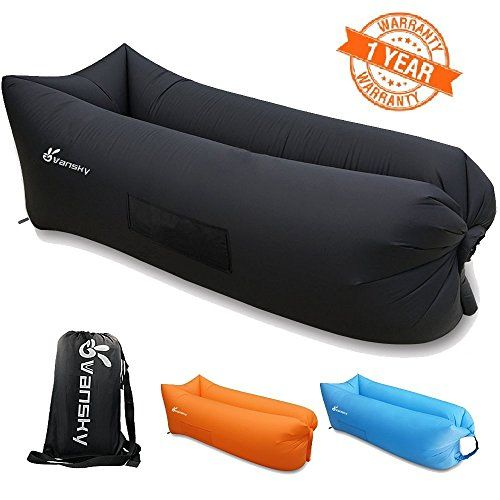 Vansky Outdoor Inflatable Lounger Portable Waterproof Air