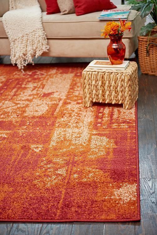Terracotta Harvest Area Rug Rugs Unique Loom Area Rugs