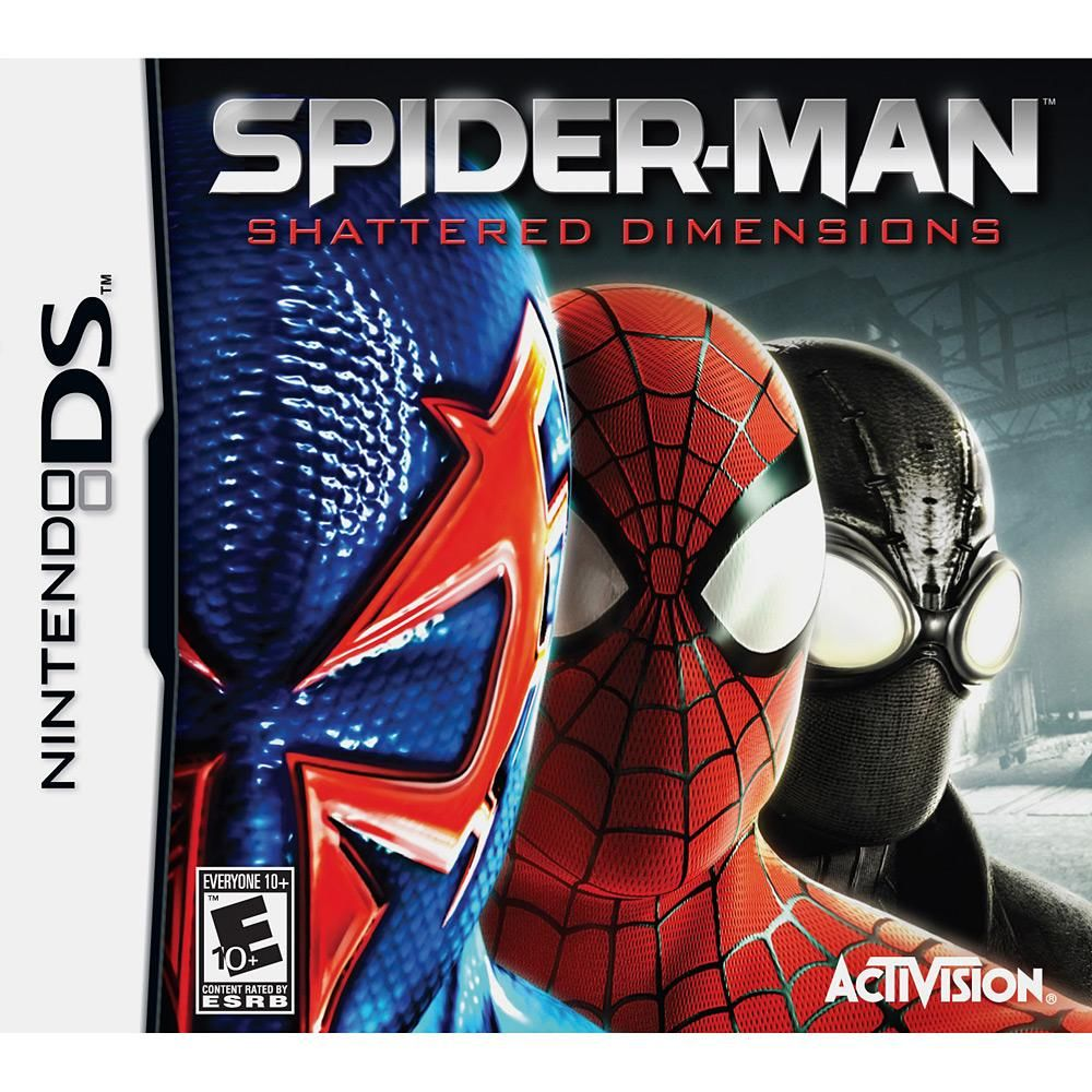 Game spiderman shattered dimensions nintendo ds